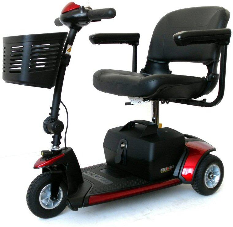 Pride Go Go Elite 3 mobility scooter
