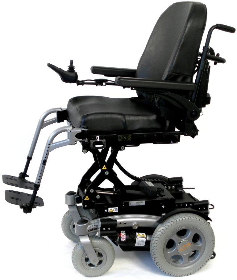Quickie Salsa R electric wheelchair